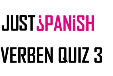 Die häufigsten Verben auf Spanisch – Teil 3