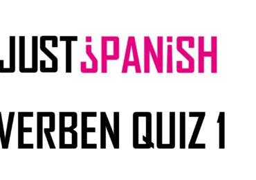 Die häufigsten Verben auf Spanisch – Teil 1